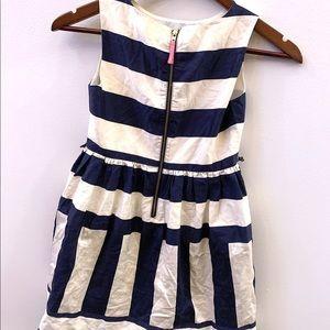 Crewcuts Dresses - Crewcuts navy and white dress